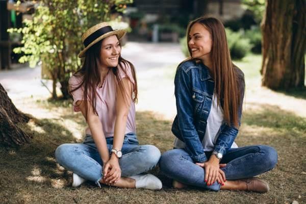 Foto de dos chicas
