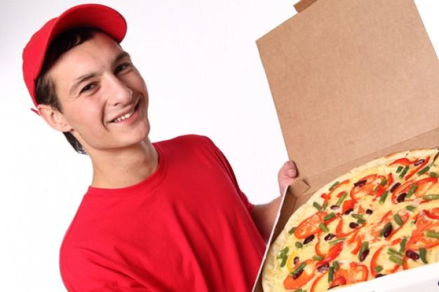 Repartidor-Pizza