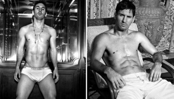 No te puedes perder a Messi en ropa interior