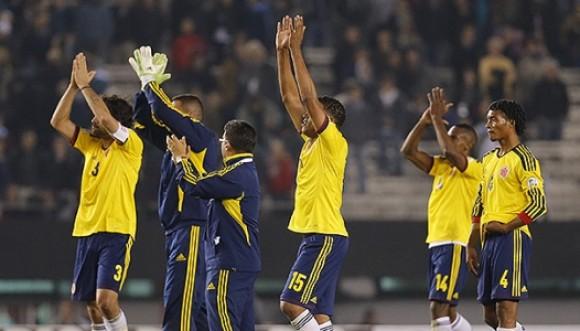 Colombia empata 0-0 con Argentina