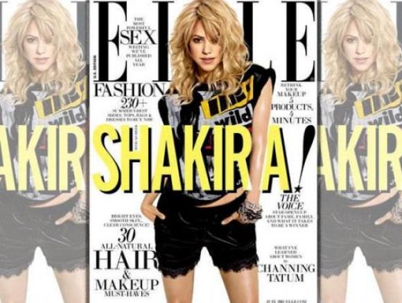 Shakira confiesa en sesión de fotos que había perdido la fe