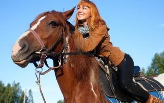 montar caballo
