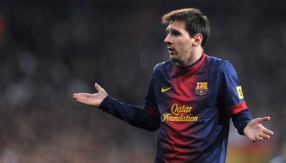 Messi descubierto con voluptuosa rubia en Las Vegas