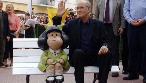 Celebremos con Mafalda el nacimiento de Quino