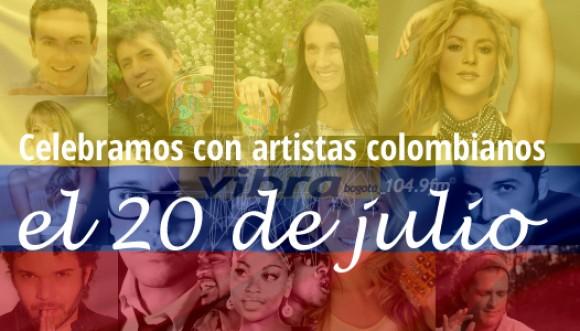 Celebremos con música la independencia de Colombia