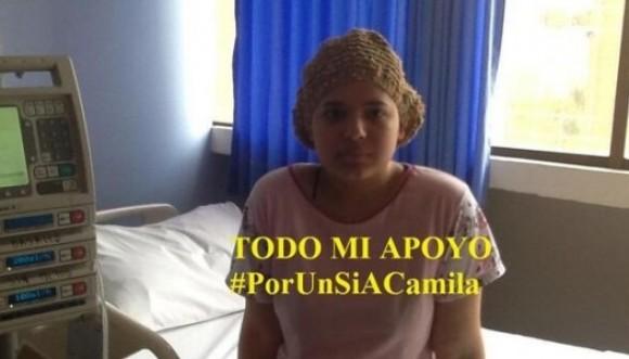Por el sí a la petición de Camila