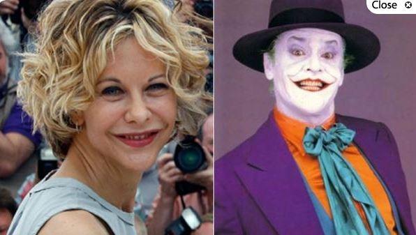 Meg Ryan y el Joker