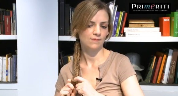 Tutorial: aprende a hacer una trenza de espiga