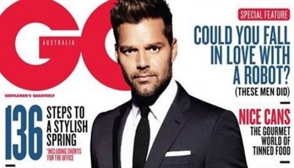Ricky Martin confesó que algún día fue homofóbico