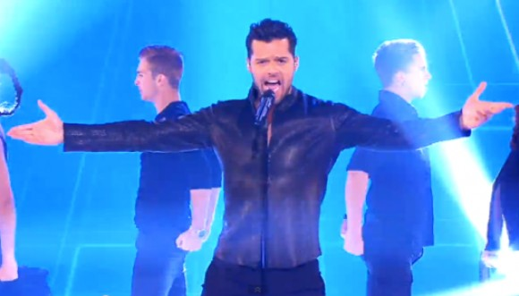 Te traemos el nuevo video de Ricky Martin: Come With Me