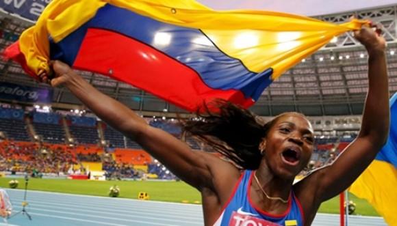 Caterine Ibargüen, atleta de oro