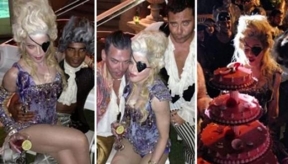 Fotos del excéntrico cumpleaños de Madonna