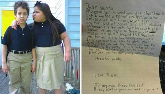 La carta de un niño que pide parar el 'matoneo'