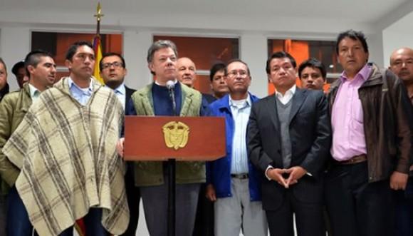 Campesinos y Gobierno empiezan a negociar