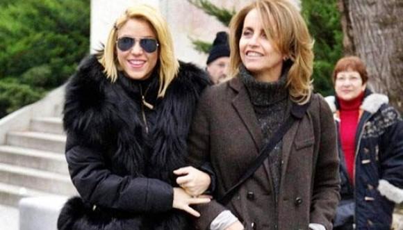 Shakira y su suegra se llevan muy bien