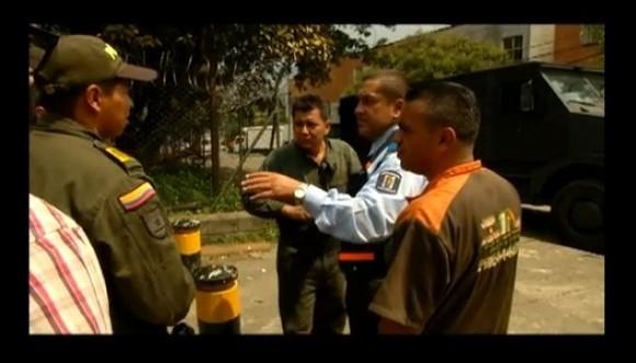 Civil borracho conducía una de sus tanquetas en Medellín