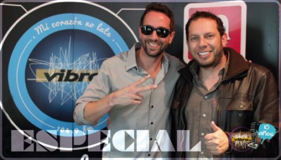 Especial: Lucas Arnau de visita en Vibra
