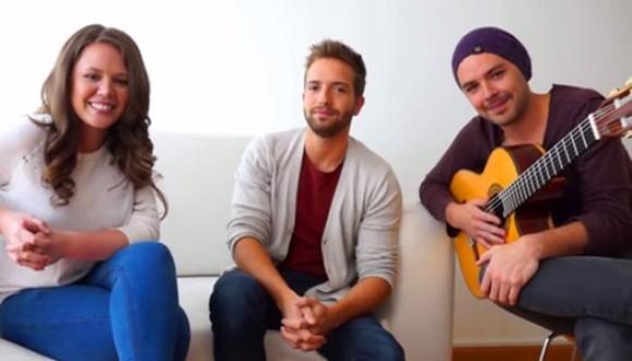 Pablo Alborán y Jesse & Joy juntos en ¿Dónde está el amor?