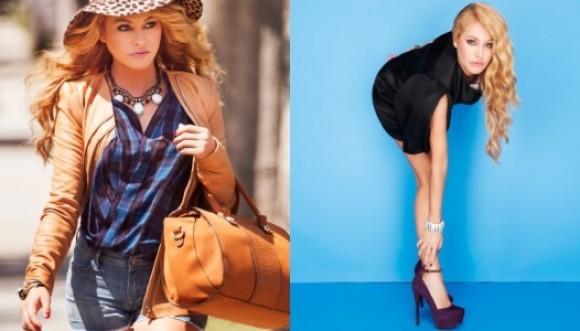 Paulina lanza su propia línea de zapatos y carteras
