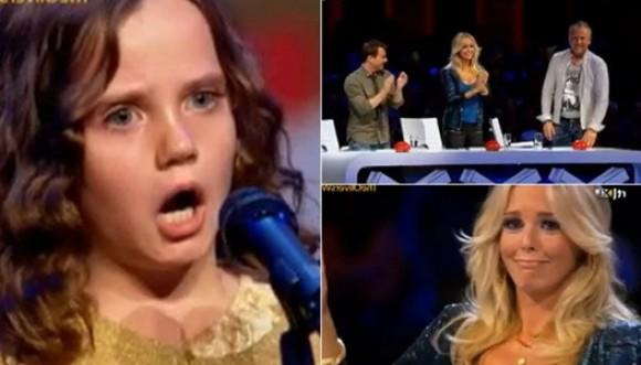 Niña holandesa sorprende en show de talentos (Video)