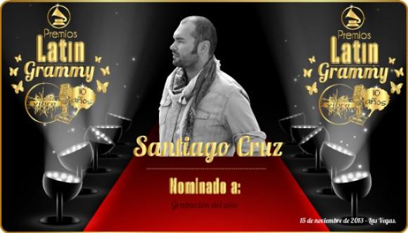 Especial Latin Grammy: reviviendo la visita de Santiago Cruz