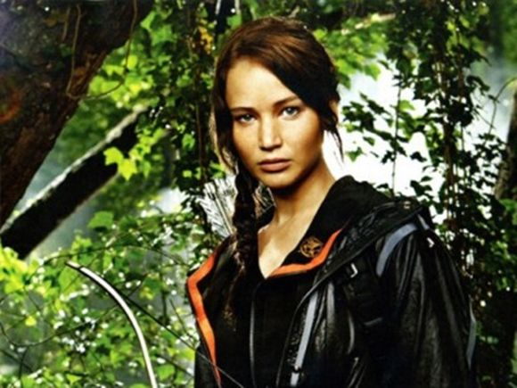 """Trenza al estilo """"juegos del hambre"""" con Jennifer Lawrence"""