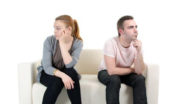 Situaciones incómodas con tu pareja