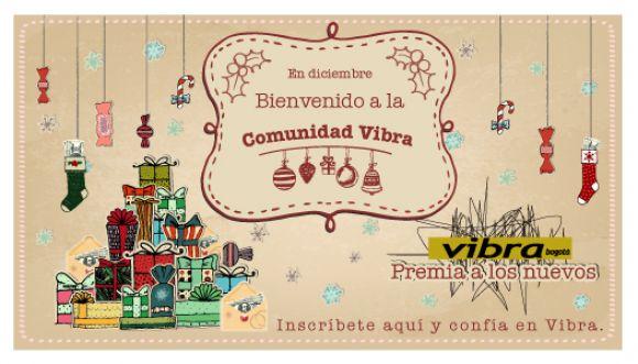 ¡Te damos la bienvenida a la Comunidad Vibra!