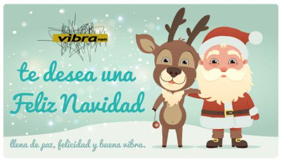 ¡En Vibra te deseamos una feliz navidad!