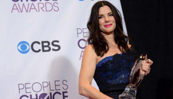 Sandra Bullock se destaca en los 'People's Choice Awards 2014'