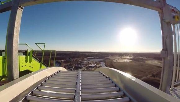 Te presentamos el tobogán más alto del mundo