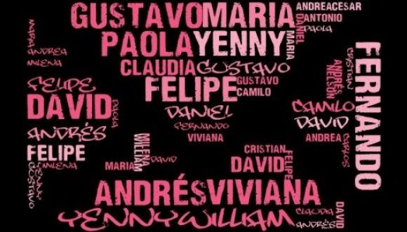 Tema del día: Nombres y sus significados