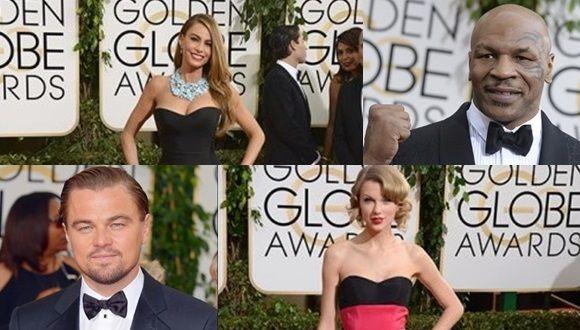 La moda de los famosos en los Globos de Oro