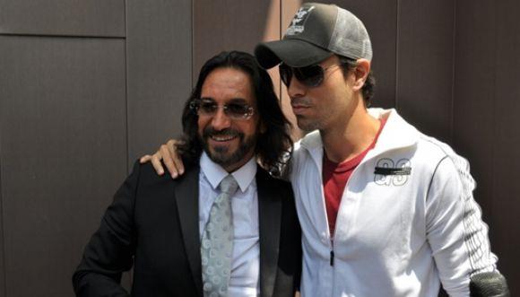 Enrique Iglesias estrena canción con Marco Antonio Solís