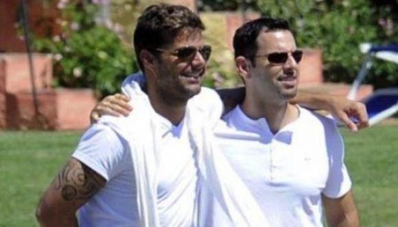 Ricky Martin terminó con su novio