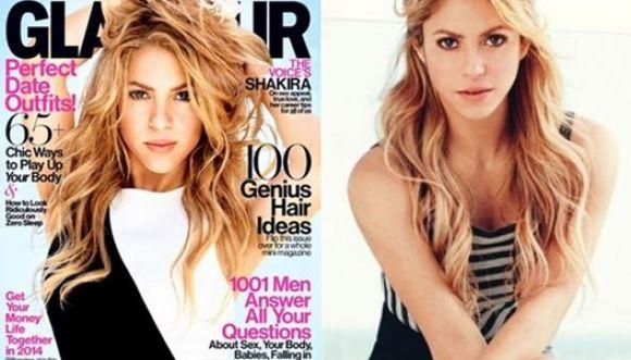 Shakira posa sexy para Glamour