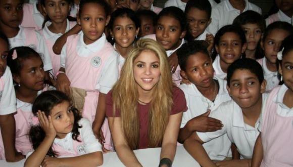 Shakira inaugurará un nuevo colegio en Cartagena