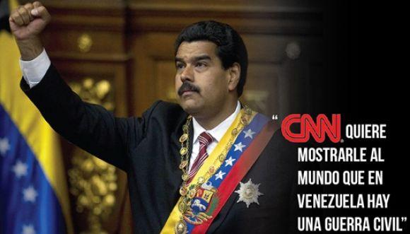 Nicolás Maduro amenaza con expulsar a CNN de Venezuela