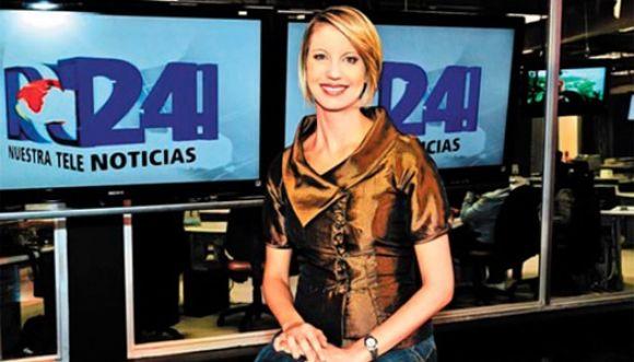NTN24 y Claudia Gurisatti censurados en Venezuela