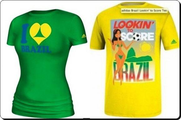Brasil desata polémica por camisetas Adidas