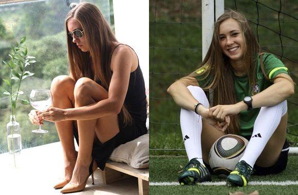 Talento y belleza a bordo en la Selección Colombia