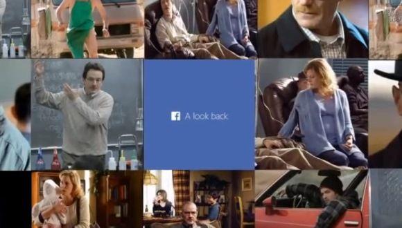 """Ésta es la película de Facebook de Walter White, de """"Breaking Bad"""""""