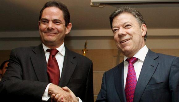 Vargas Lleras compañero de campaña presidencial de Santos