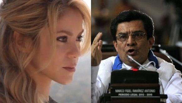 Shakira criticó al concejal Marco Fidel Ramírez