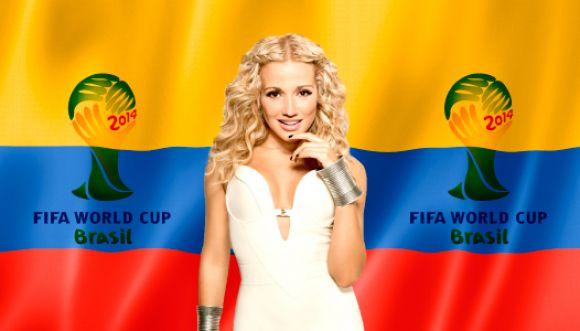 Fanny Lu cantará el himno nacional en el Mundial de Brasil 2014