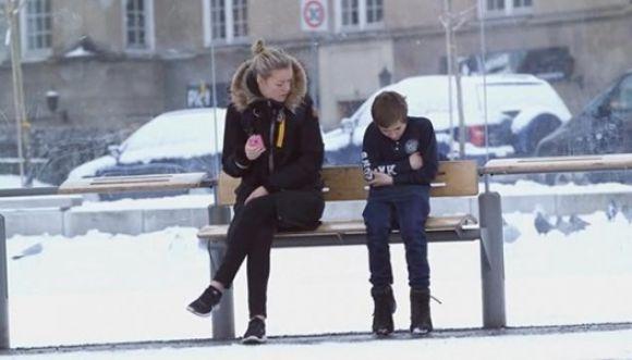 ¿Qué harías si vieras a un niño con mucho frío?