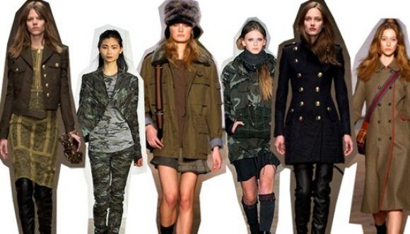 Vuelve la moda al estilo militar