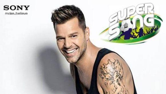 Canción elegida por Ricky Martín para el Mundial Brasil 2014