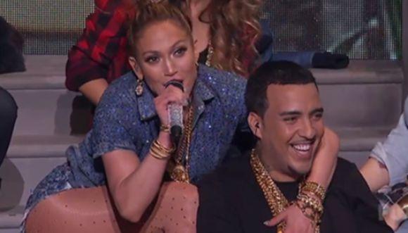 """J.Lo presentó su nuevo sencillo en """"American Idol"""""""