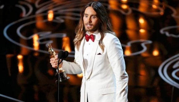 Jared Leto quebró su estatuilla